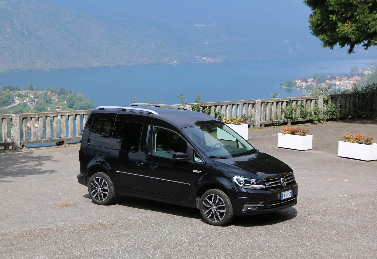 volkswagen caddy 1 4 tgi la prova del minivan a metano. Black Bedroom Furniture Sets. Home Design Ideas