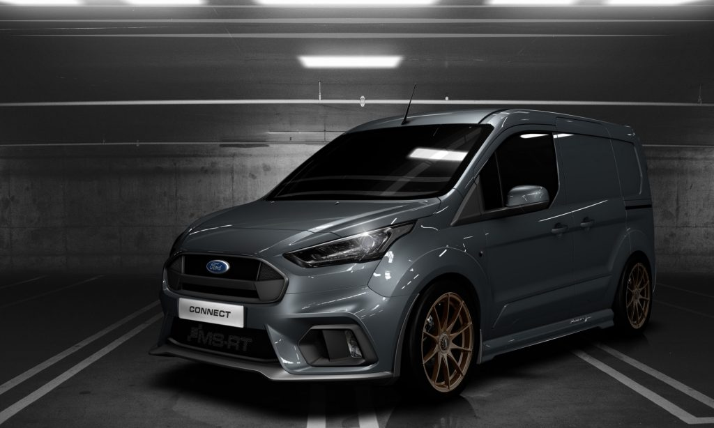 Ford Transit Van >> Ford Transit Connect MS-RT: furgone tuning