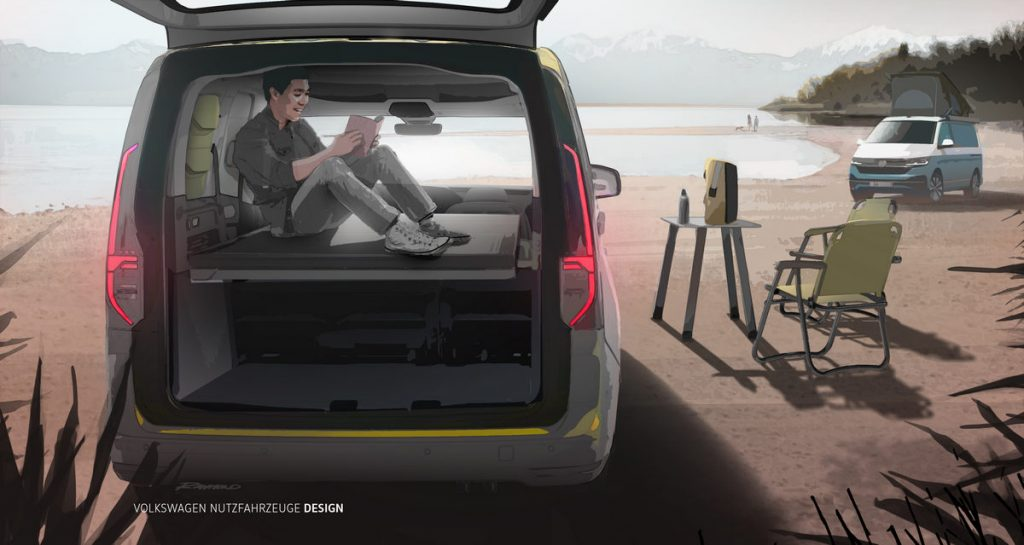 Volkswagen Mini camper 2020