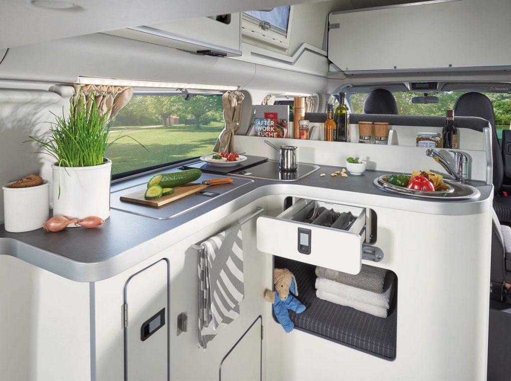 Ford Transit Custom Nugget - cucina
