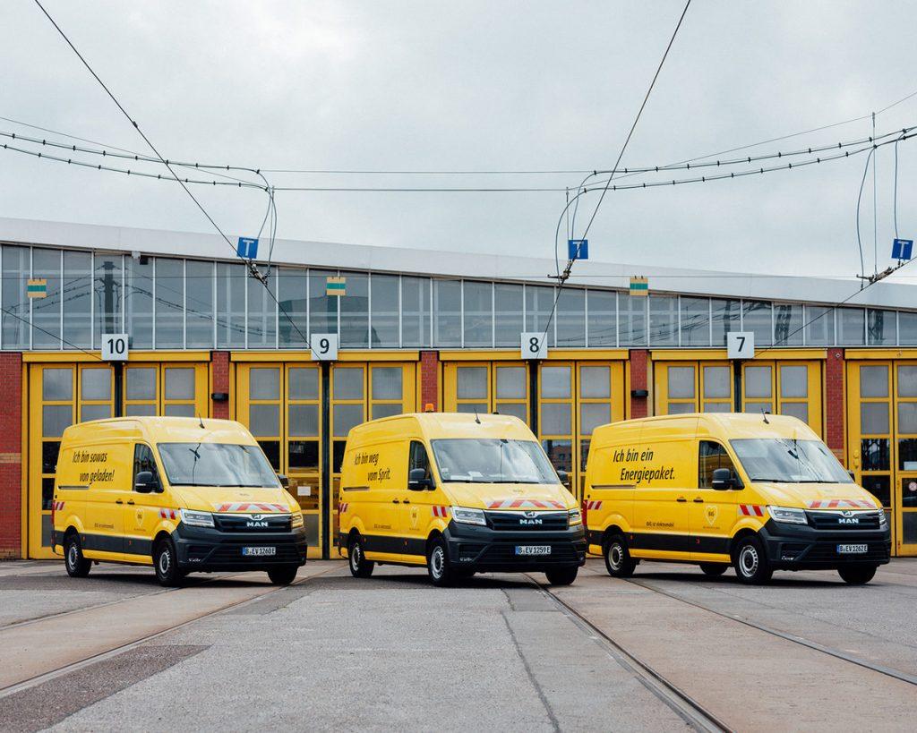 Il MAN eTGE elettrico utilizzato nel trasporto pubblico di Berlino
