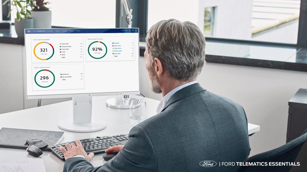 Fleet manager del Ford Telematics Essentials