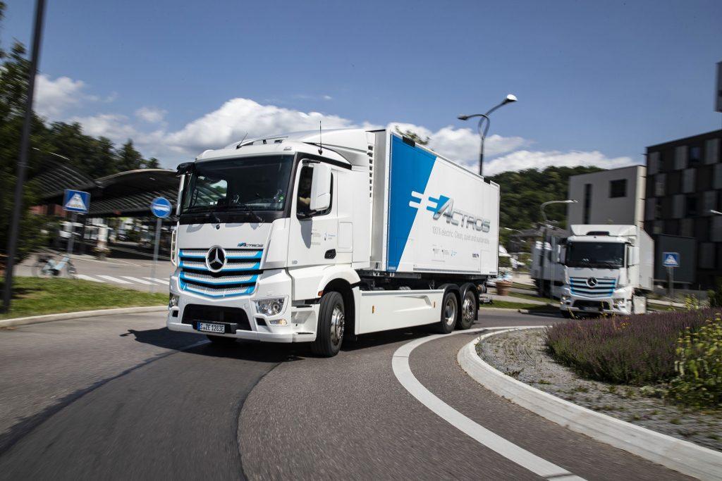 eActros di Mercedes-Benz Trucks