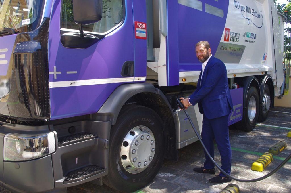 Renault Trucks ed Enel per la mobilità elettrica.