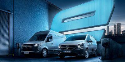 La gamma elettrica di Mercedes-Benz Vans