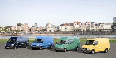 Mercedes-Benz Vans, 25 anni di Sprinter
