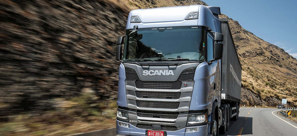 Scania S 500 6x4 Highline, general cargo transport.