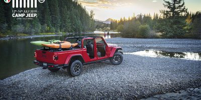 Camp Jeep 2019, la prima europea per la pick-up Gladiator