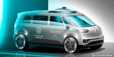 Volkswagen punta alla guida autonoma dei Veicoli Commerciali per il 2025