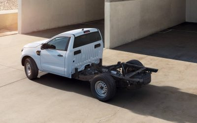 Ford Ranger pick-up disponibile in versione chassis cab da gennaio 2021