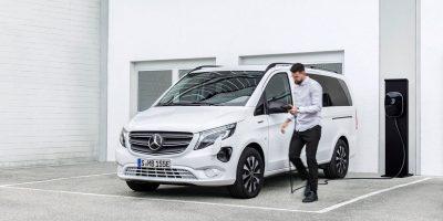 Mercedes-Benz e-Vito, un test all'interno delle aziende