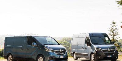 Nuovi Renault Trafic e Master, più tecnologia e più potenza