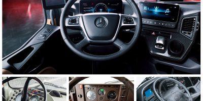 Com'è cambiata la cabina di un Truck Mercedes-Benz negli ultimi 60 anni