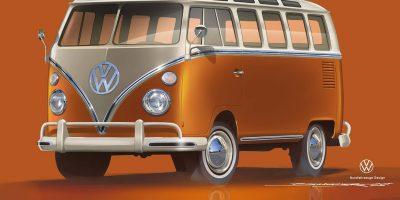 Nuovo Volkswagen e-BULLI, il ritorno di un grande classico