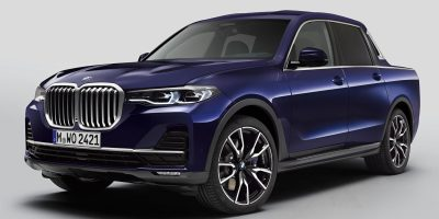 BMW: la SUV X7 diventa pick-up