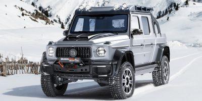 Brabus 800 Adventure XP: la Mercedes G 63 AMG diventa pick-up