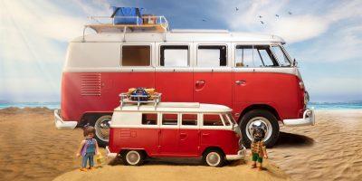 Volkswagen Bulli. Il Camping Bus di culto in versione Playmobil
