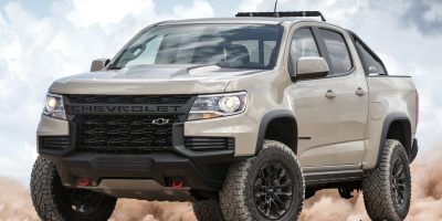Chevrolet Colorado ZR2 2021: lifting aggressivo