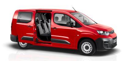 Citroën Berlingo: ora anche Doppia Cabina Mobile