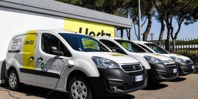 Furgoni elettrici: Peugeot Partner e Citroën Berlingo Van nella flotta Hertz