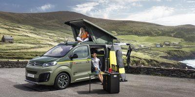 Citroën SpaceTourer Rip Curl Concept: un camper per il surf