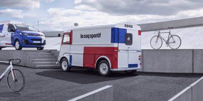 Citroën Jumpy e Type H personalizzati le coq sportif