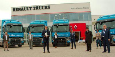 Quindici Renault Trucks T 480 per la Di Nino Trasporti