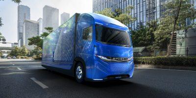 E-FUSO Vision One: il camion elettrico del futuro