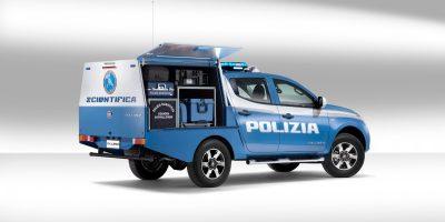 Fiat Professional: il Fullback per la Polizia Scientifica