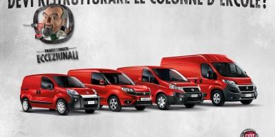 Fiat Professional, le offerte di veicoli commerciali di marzo 2016