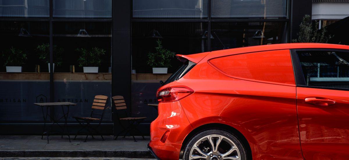 Ford Fiesta Sport Van dettaglio posteriore