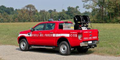 Ford Ranger: un pick-up per i Vigili del Fuoco
