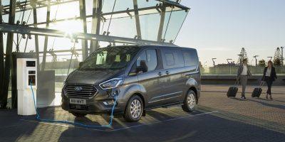 Ford Tourneo Custom PHEV al Festival della Scienza 2019
