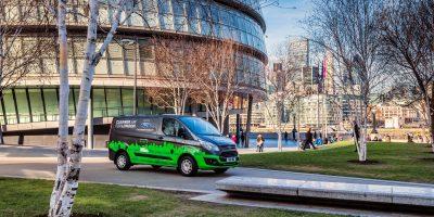 Ford Transit Custom Hybrid Plug-in: primi test a Londra in attesa del lancio