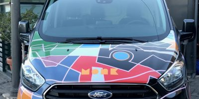 Ford a SyART Sorrento Festival 2019 con Transit Custom