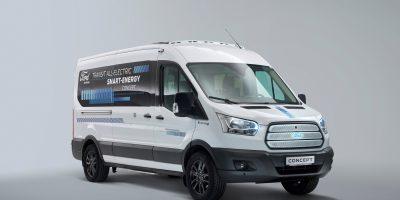 Ford Transit Smart Energy Concept: il minibus elettrico del futuro