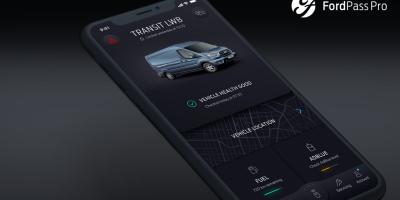 FordPass Pro: una app per i clienti dei veicoli commerciali Ford