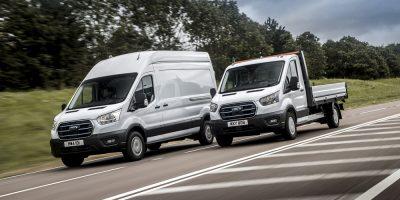 Ford E-Transit, il programma prove su strada in Europa