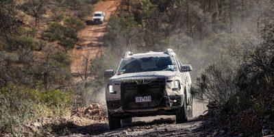 Ford Ranger, i test per la nuova generazione