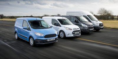 Veicoli commerciali Ford: leader in Europa nel 2016