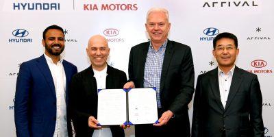 Hyundai e Kia: accordo con Arrival per i veicoli commerciali elettrici