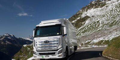 Hyundai XCIENT Fuel Cell: più di un milione di chilometri percorsi in Svizzera