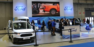 Lo stand Ford a Transpotec 2017