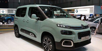 Citroën Berlingo: le foto e i dati della terza generazione