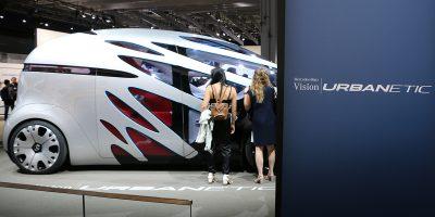 Mercedes-Benz Vision Urbanetic, il van del futuro allo IAA 2018