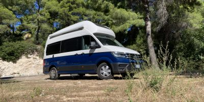 Volkswagen Grand California 600, il test del camper Volkswagen