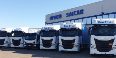 5 IVECO S-WAY e un Eurocargo consegnati a Fast