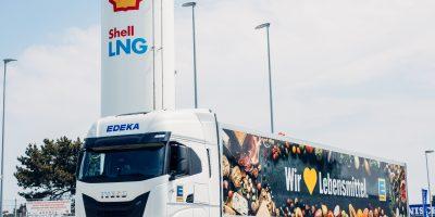 IVECO S-WAY a gas naturale per i supermercati tedeschi