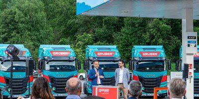 Collaborazione tra IVECO e Gruber con veicoli a biometano