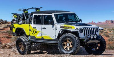 Pick-up Jeep: sei concept svelati al raduno di Moab